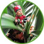Фигурка для садового и флористического декора