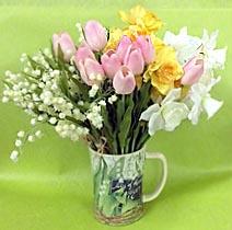 8 марта, букет весенних цветов