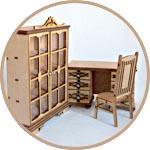 Кукольная мебель ажурная под старину купить