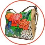 Краски по коже Viva Decor Color Up роспись сумки
