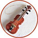 Музыкальные инструменты мини, скрипка