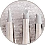 Набор тонких силиконовых кистей купить