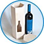 Футляр под вино - заготовка для декора купить