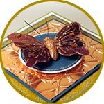 Объемная бабочка - декор