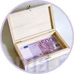 Купюрница под евро