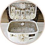 Коробка для денежных подарков на свадьбу, декор чемодана