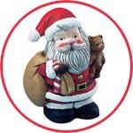 Пенопластовая фигурка для декора - Санта Клаус