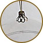 Колпачок металлический для шаров и шариков купить