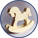 Деревянная лошадь - символ 2014