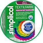 Красители для тканей из хлопка, льна, вискозы, шерсти, шелка и некоторых видов синтетики Simplicol Textilfarbe