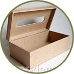 Шкатулка для для салфеток с открывающейся крышкой