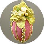 Пасхальное украшение - яйцо подвесное