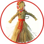 Масленица - кукла из лыка
