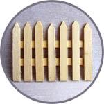 Мини-заборчик для миниатюр