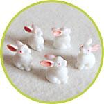 Мини-кролики для декора