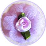 Цветы из ткани для декора и топиариев