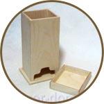 Емкость для чайных пакетиков деревянная