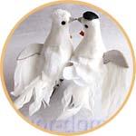 Свадебные голубки для декора