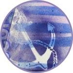 Морской декор на футболке - краски текстильные Fashion Spray