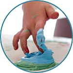 Краски объемные пальчиковые для детского развития