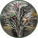 Искусственный смываемый лед для новогоднего украшения