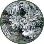 Искусственный смываемый снег для новогоднего украшения