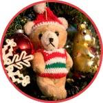 Мишка Тедди на елке