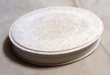 Овальная заготовка - шкатулка из папье-маше