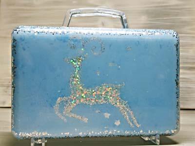 Новогодний чемоданчик для подарков, мастер-класс пошаговый