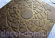 Форма для заливки краски Пебео Калейдоскоп