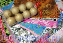 Бумага декопач и заготовки шариков