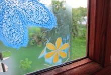 Нанесение геля для стекла