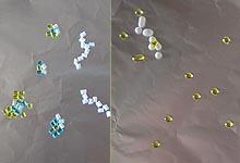 Бусинки из креативных гранул