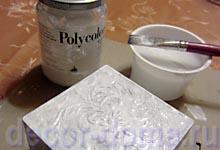 Белая краска Поликолор