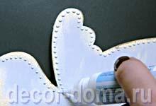Часы свадебные с розами, мастер-класс, точечная роспись на часах