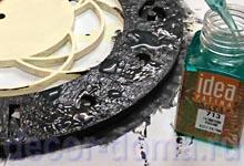 Нанесение химической патины, патинирование металла