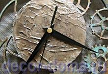 Часы в стиле Стимпанк, мастер-класс по декору часов