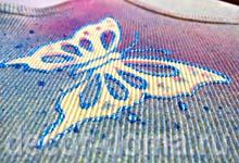 Контур Marabu Fashion Liner после высыхания