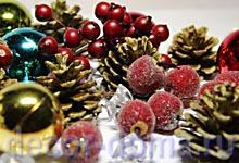 Топиарий новогодний своими руками, декоративная флористика