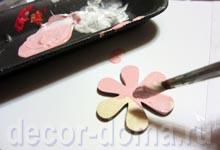 Раскраска цветочков