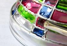 Имитация витража красками по стеклу