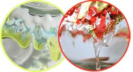 Мастер-классы - декор стекла гранулами