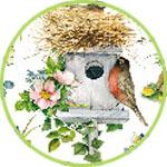 Декупаж птички