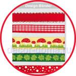 Новые ленточки для скрапбукинга и декора