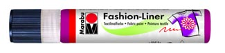 Контуры Marabu Fashion Liner, туба