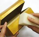 Золочение пастой Inka gold