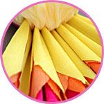 Поступление папиросной и креповой бумаги