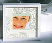 Декор на стекле фоторамки