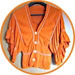 Окрашивание текстиля - после