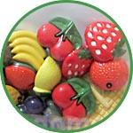 Пуговки декоративные фрукты купить